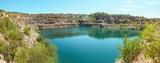 Панорманый вид на радоновое озеро